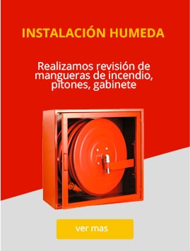 Mantencion Red Humeda